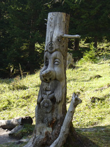 Carved Stump