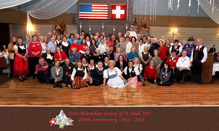 Group Picture of the 100-Year Anniversary in 2012